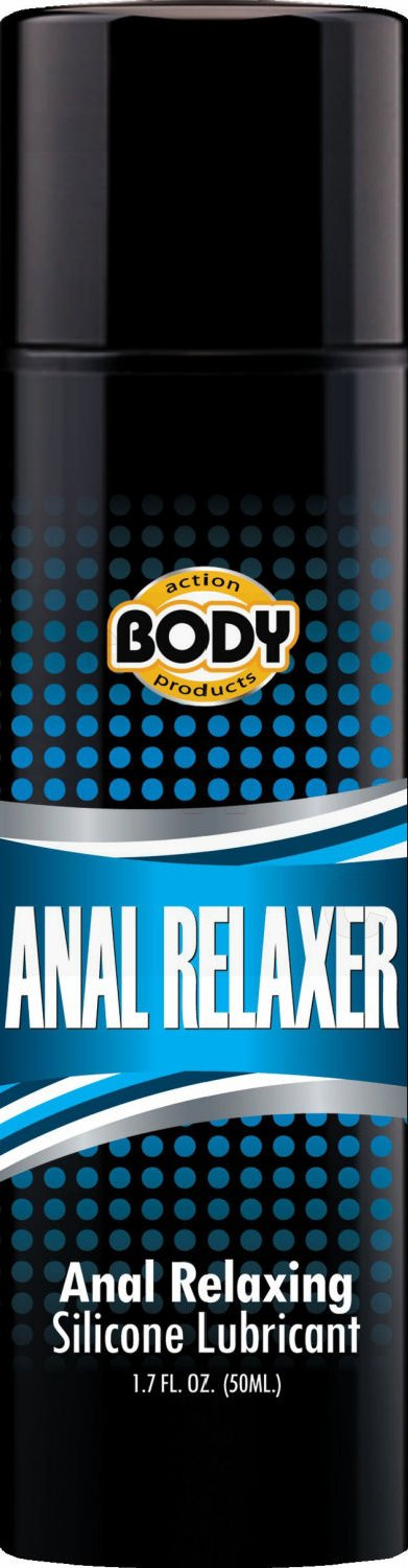 Body Action Anal Relaxer Silicone Lube 1.7 oz.