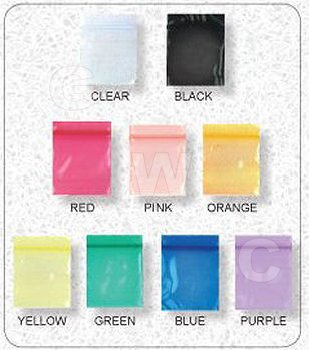 Jewelry Bags (#1515) - Asst Colors 100 Pieces