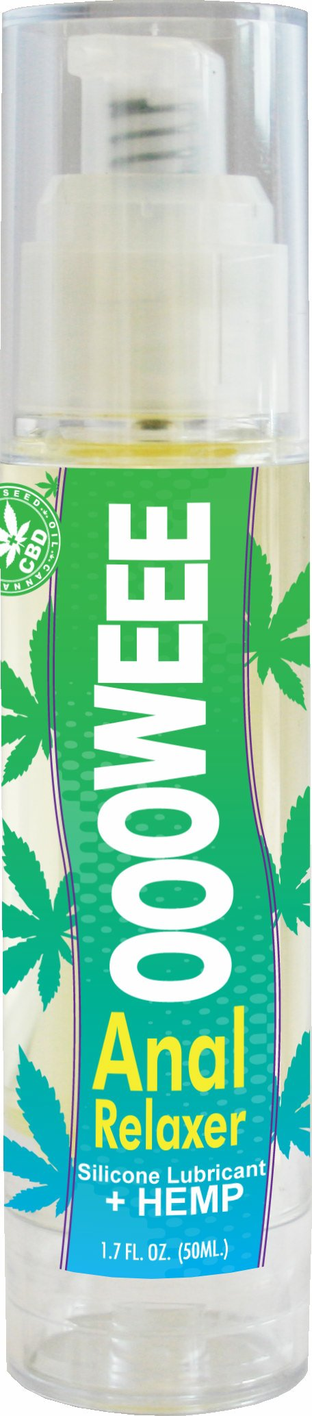 Oooweee Anal Relaxing Silicone Lubricant W/Hemp Seed Oil 1.7Oz