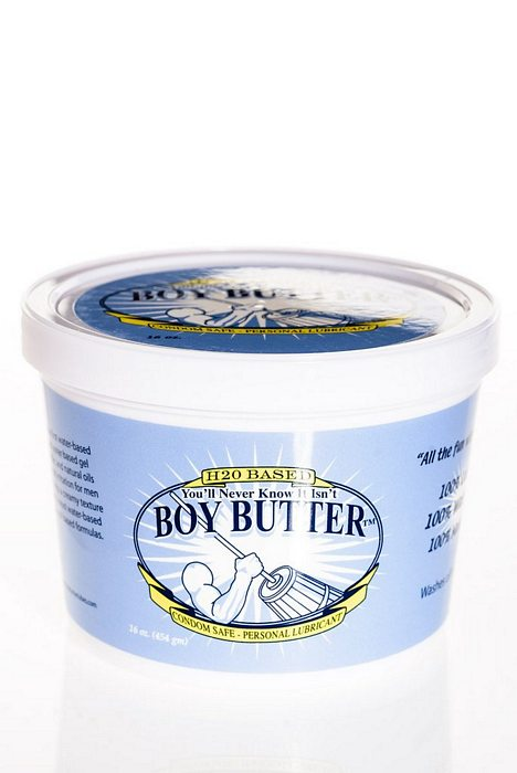 Boy Butter H2O Formula 16 Oz Tub