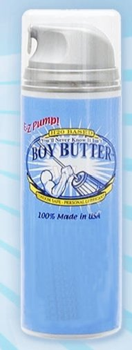 You'll Never Know It Isn't Boy Butter 5 oz EZ Pump
