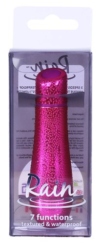 "Rain Power Bullet 3"" Textured Fuschia"