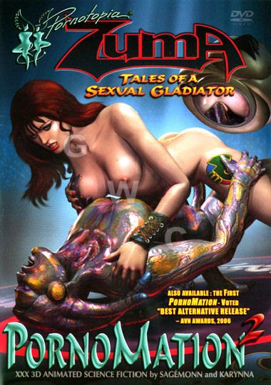 DVD - Pornomation (Erotomation) 2: Zuma: Tales of a Sexual Glad