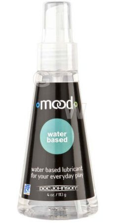 Mood Water Based Lube 4 Oz.