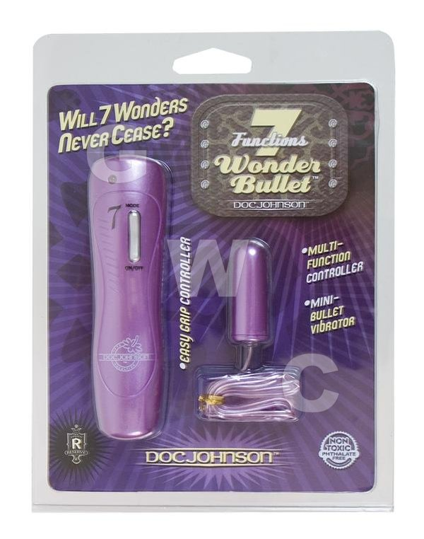 7 Function Wonder Bullet Purple