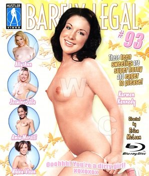 DVD - Barely Legal 93