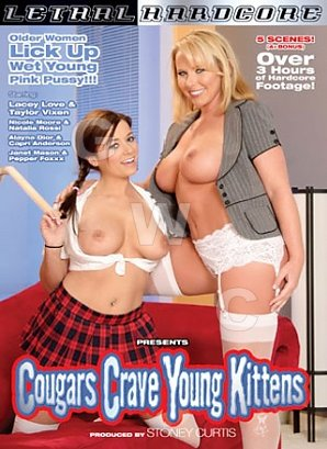 DVD - Cougars Crave Young Kittens