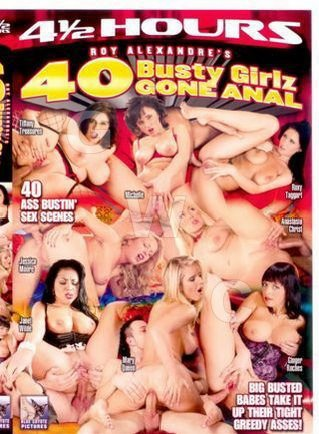 DVD - 40 Busty Babes Gone Anal