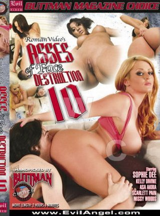 DVD - Asses of Face Destruction 10